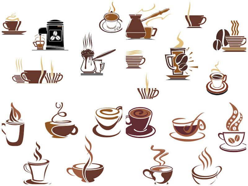 Cafe clipart vector clipart royalty free download Coffee cup logos vector | coffee | Coffee clipart, Cafe cup, Cup logo clipart royalty free download