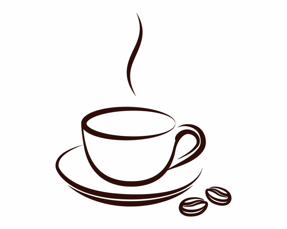 Cafe clipart vector banner library stock Drawn Tea Cup Cafe Mug - Coffee Cup Vector Png Free PNG Images ... banner library stock