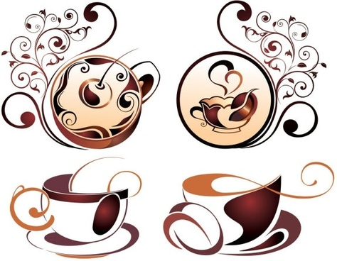 Cafe clipart vector vector freeuse library Coffee free vector download (1,370 Free vector) for commercial use ... vector freeuse library