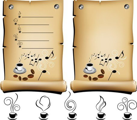 Cafe menu clipart jpg library stock Free Old Cafe Menu Vector Kraft Clipart and Vector Graphics - Clipart.me jpg library stock