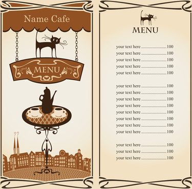 Cafe menu clipart image Eps cafe clipart free vector download (179,154 Free vector) for ... image
