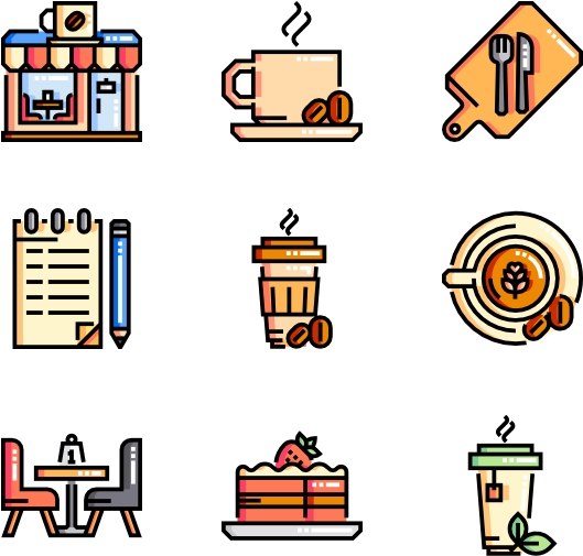 Cafe play menu clipart svg royalty free download Cafe - Restaurant Menu Icon Vector Clipart - Full Size Clipart ... svg royalty free download