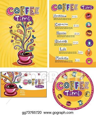 Cafe play menu clipart svg stock Vector Stock - Corporate style for cafe or shop. Clipart ... svg stock
