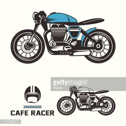 Cafe racer clipart vector freeuse Cafe Racer premium clipart - ClipartLogo.com vector freeuse