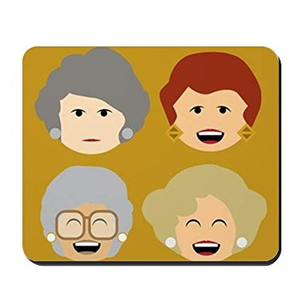 Cafepress clipart featire not working picture free library Amazon.com: CafePress - Golden Girls Emoticon Heads - Non-Slip ... picture free library