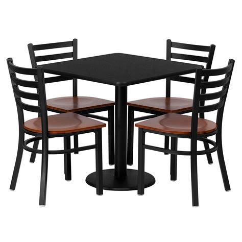 Cafeteria table clipart freeuse library Cafe Table And Chairs Clip Art - Brine freeuse library