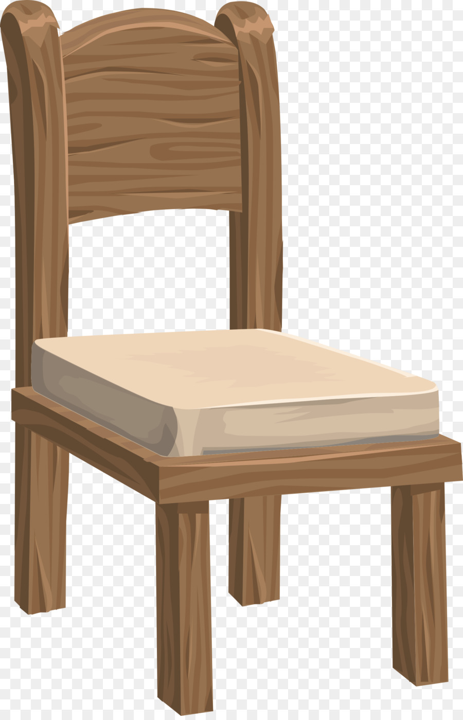 Chair clipart photo clipart library stock Wood Table clipart - Chair, Table, Furniture, transparent clip art clipart library stock