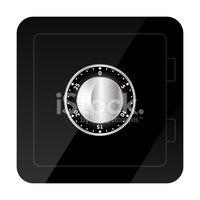 Caja de seguridad clipart svg royalty free Ilustración DE LA Caja Fuerte vectores en stock - Clipart.me svg royalty free