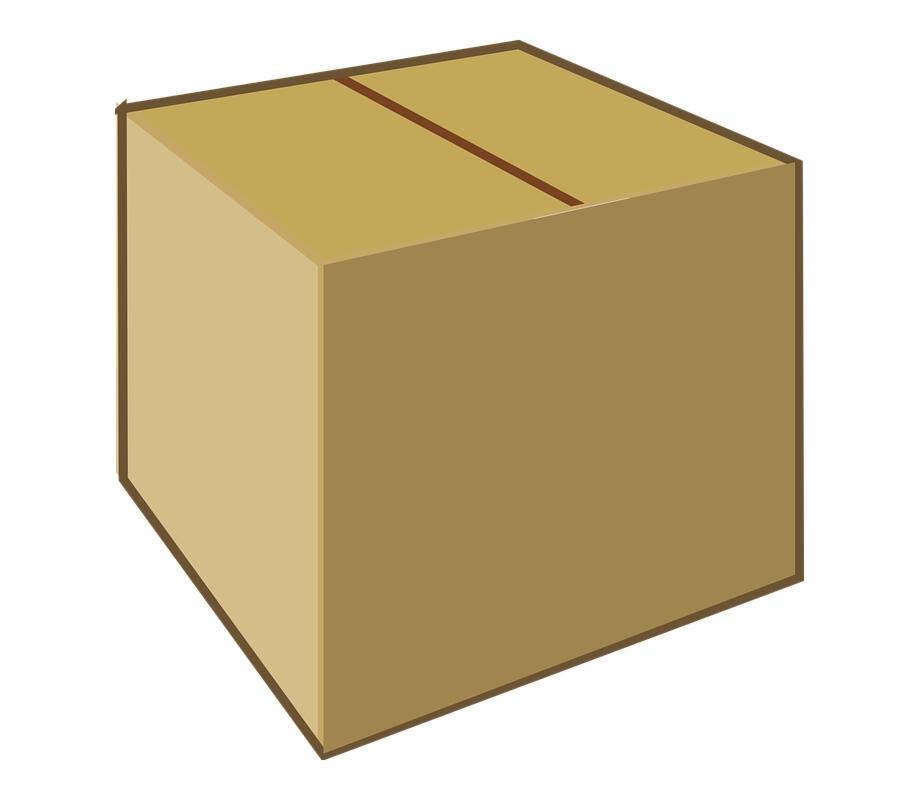 Cajas en clipart svg freeuse Caja De Cartón, Brown, Cuadro, Cartón, Paquete, Parcela - Closed Box ... svg freeuse