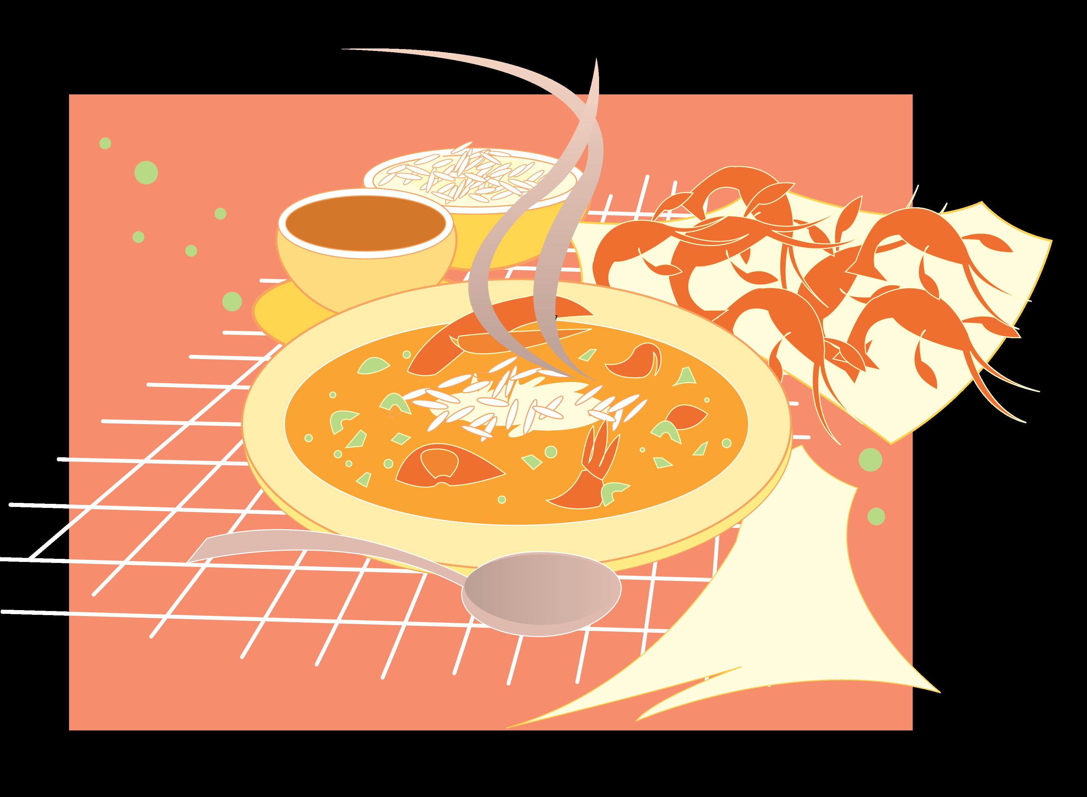 Cajun food clipart svg free download Cajun Food Clip Art - New Orleans Free Vector Clip Art svg free download