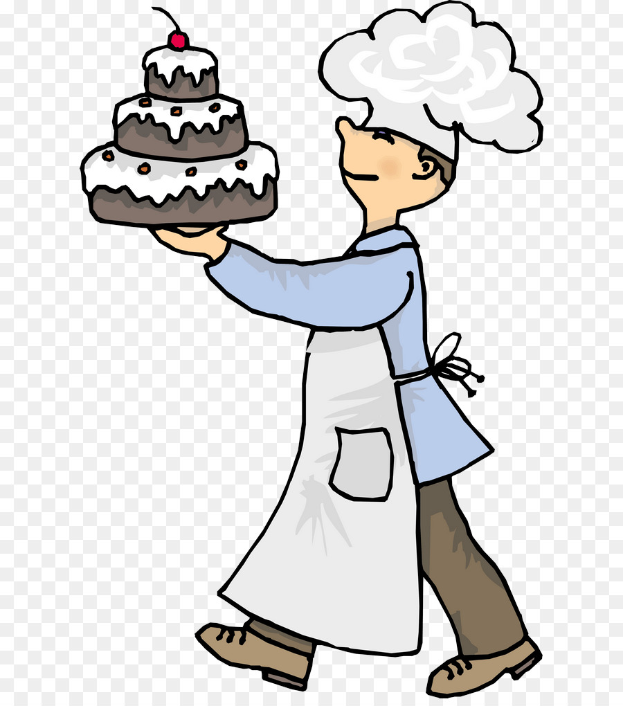Cake baker clipart clip royalty free Chef Cartoon png download - 670*1009 - Free Transparent Chocolate ... clip royalty free