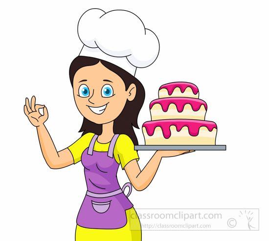 Cake baker clipart jpg black and white library Pin by Janice Varga on TEACH | Cake clipart, Cake, Clip art jpg black and white library
