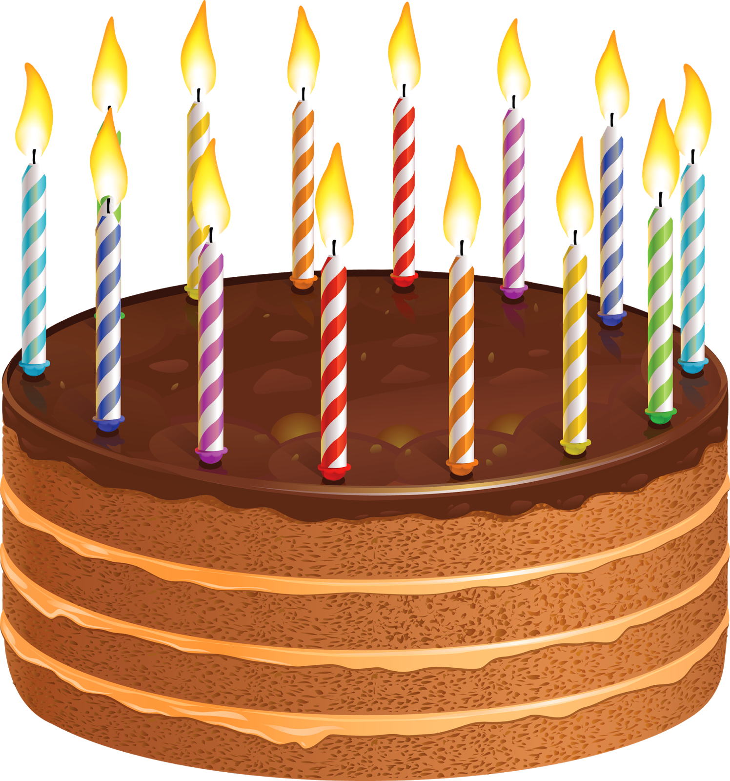 Happy birthday cake with candles clipart picture download Happy Birthday Wishes Greetings Clipart Cake With Candles, Happy ... picture download