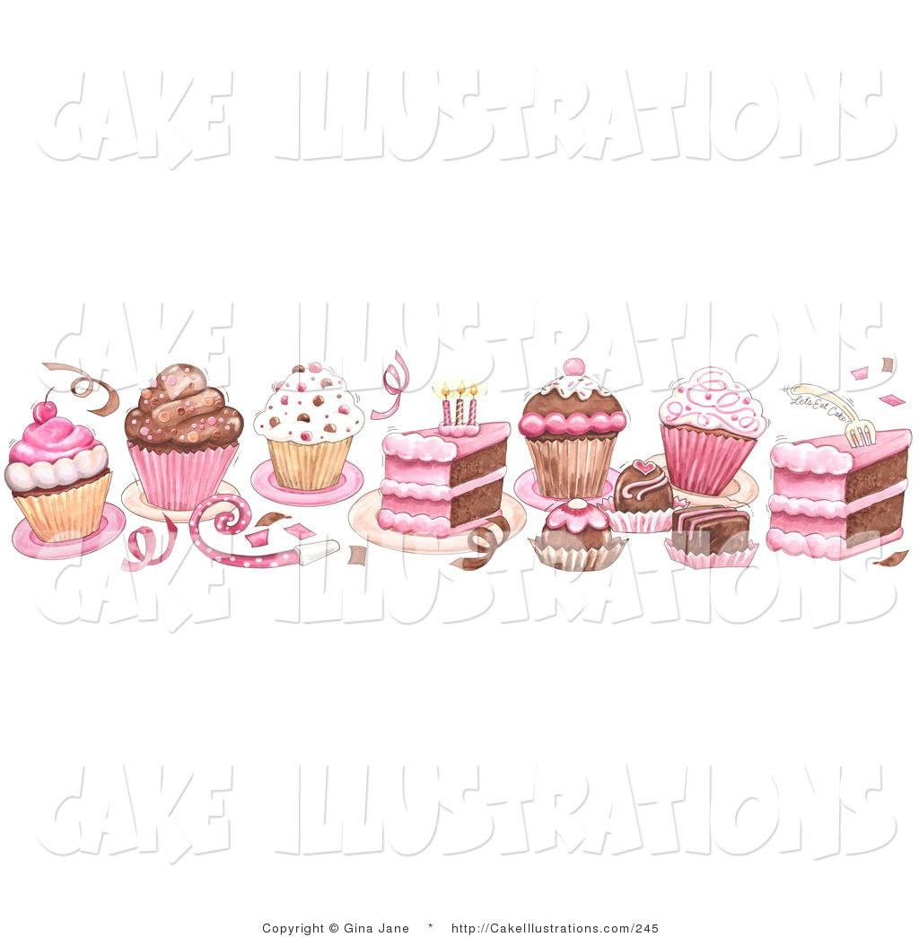 Cake borders clipart svg freeuse Birthday cake clip art border - 15 clip arts for free download on ... svg freeuse