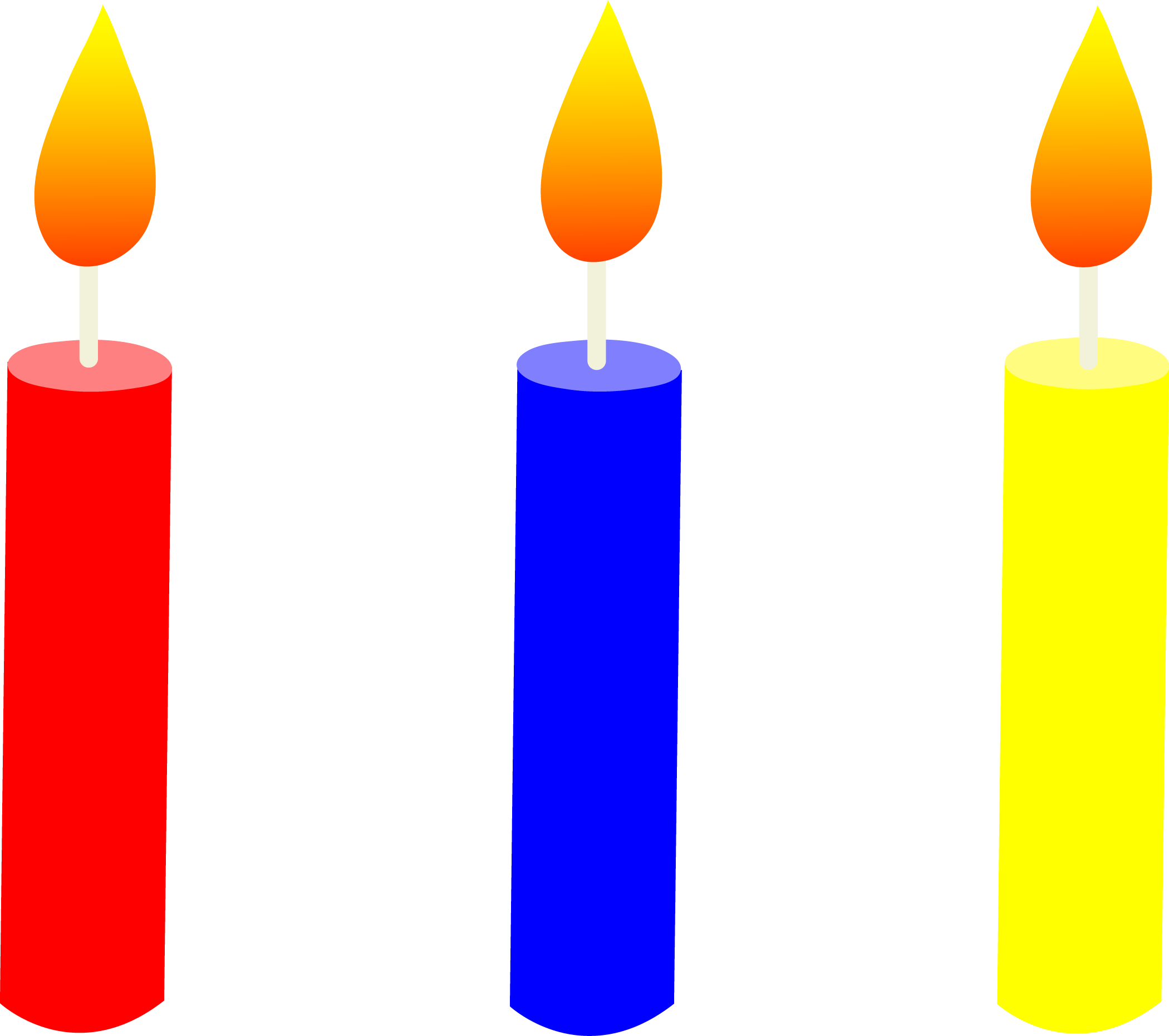 Cake candle clipart vector royalty free Free Picture Of Birthday Candles, Download Free Clip Art, Free Clip ... vector royalty free