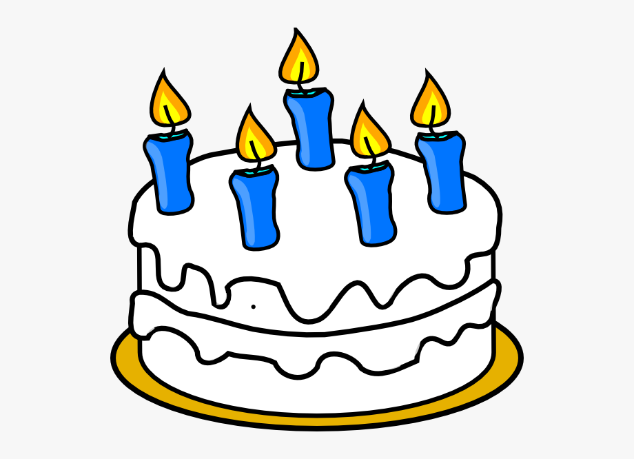 Cake candle clipart clipart transparent library 5 Clipart Birthday Cake Candle - Birthday Cake Clip Art #8954 - Free ... clipart transparent library