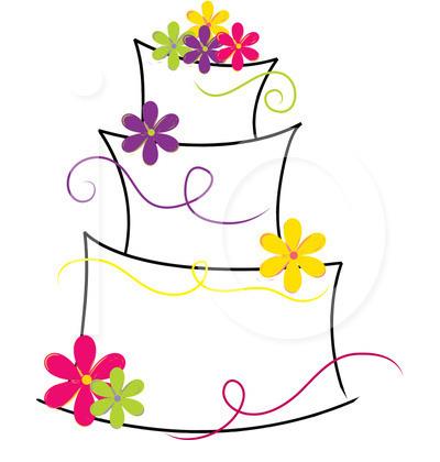 Cake clip art free clip art black and white Wedding Cake Clip Art | Clipart Panda - Free Clipart Images clip art black and white