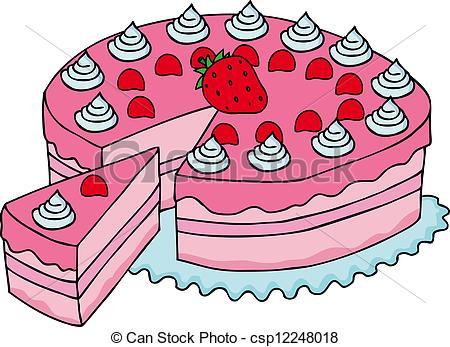 Cake clipart slice svg black and white download Slice of cake clip art - ClipartFest svg black and white download