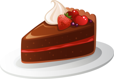 Cake clipart slice. Free clipartfest fotor chocolate
