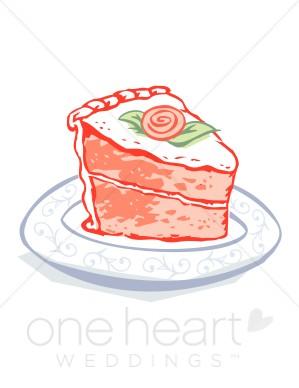 Cake clipart slice clip download Clipart Slice of Cake | Wedding Cake Clipart clip download