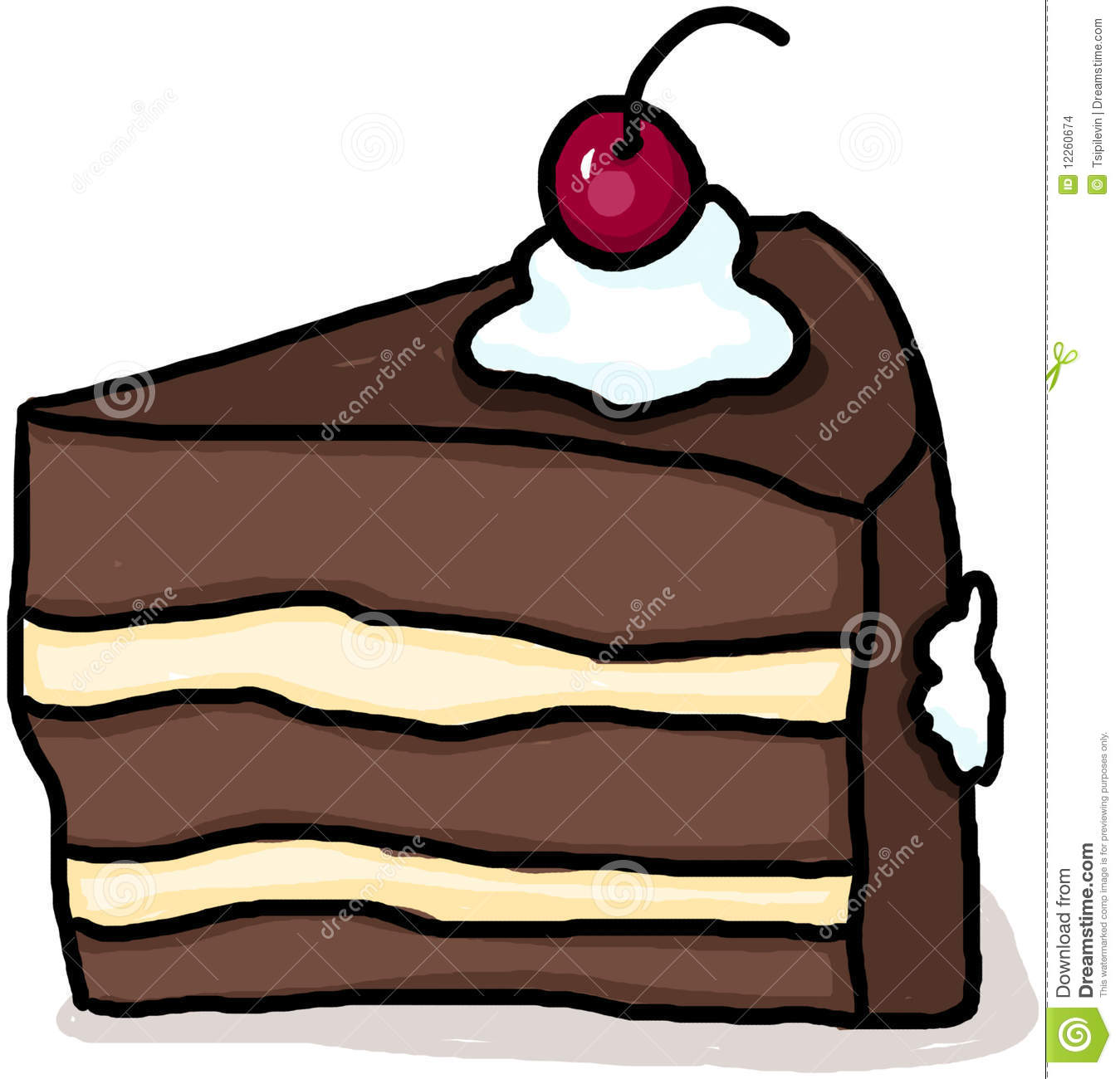 Of kid chocolate panda. Cake clipart slice