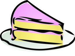 Cake clipart slice. Of illustrations and illustration