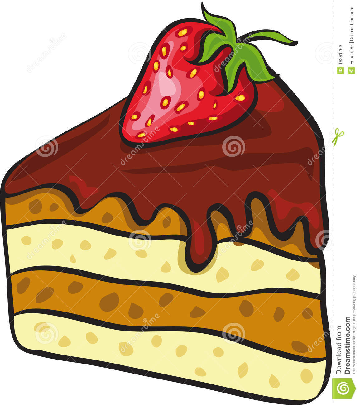 Cake clipart slice picture freeuse download Piece of chocolate cake clipart - ClipartFest picture freeuse download