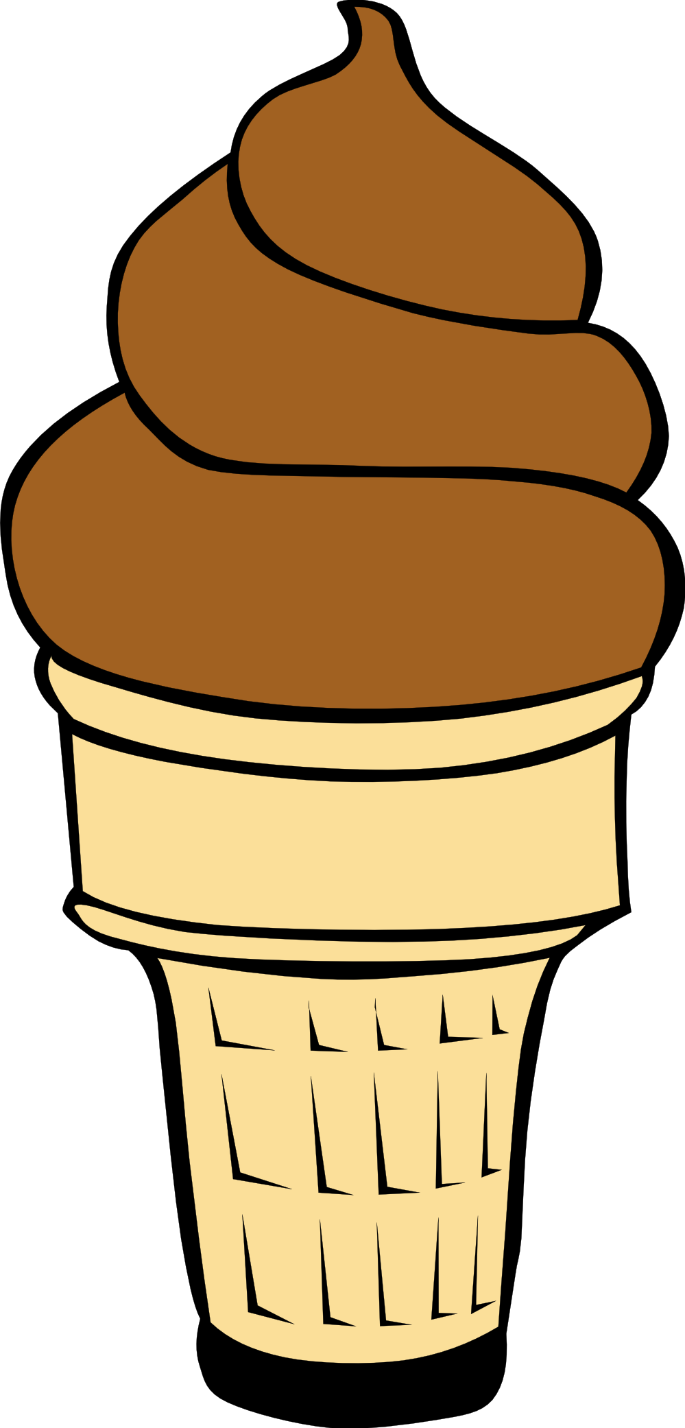 Cake cone clipart transparent library Ice cream cone clipart free images 7 - ClipartPost transparent library