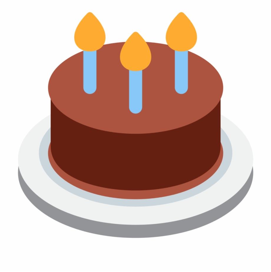 Cake emoji clipart clip free File Twemoji F - Birthday Cake Emoji Png Free PNG Images & Clipart ... clip free