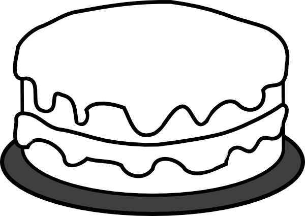 Cake outline clipart jpg black and white download clip art cake outline | cake clip art | AHG Craft | Cake clipart ... jpg black and white download