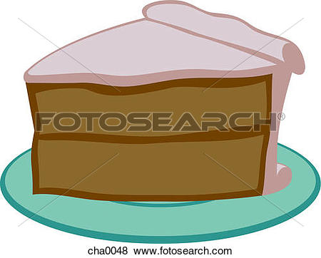 Cake slice clipart. Stock illustration images illustrations