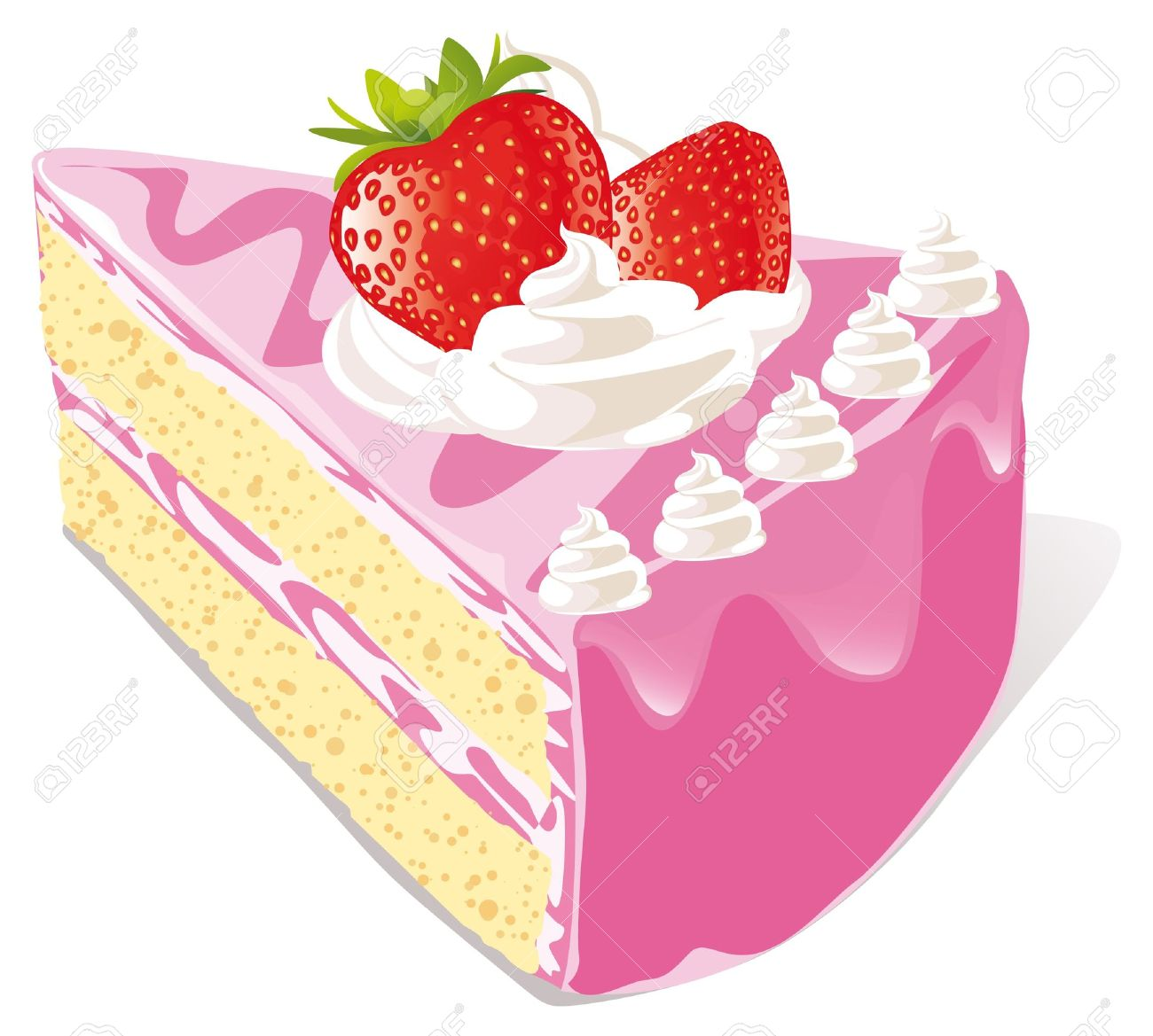 piece of cliparts. Cake slice clipart