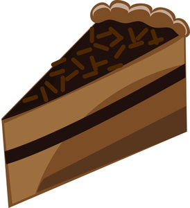 Cake slice clipart clipart royalty free download Chocolate cake slice clipart - ClipartFox clipart royalty free download