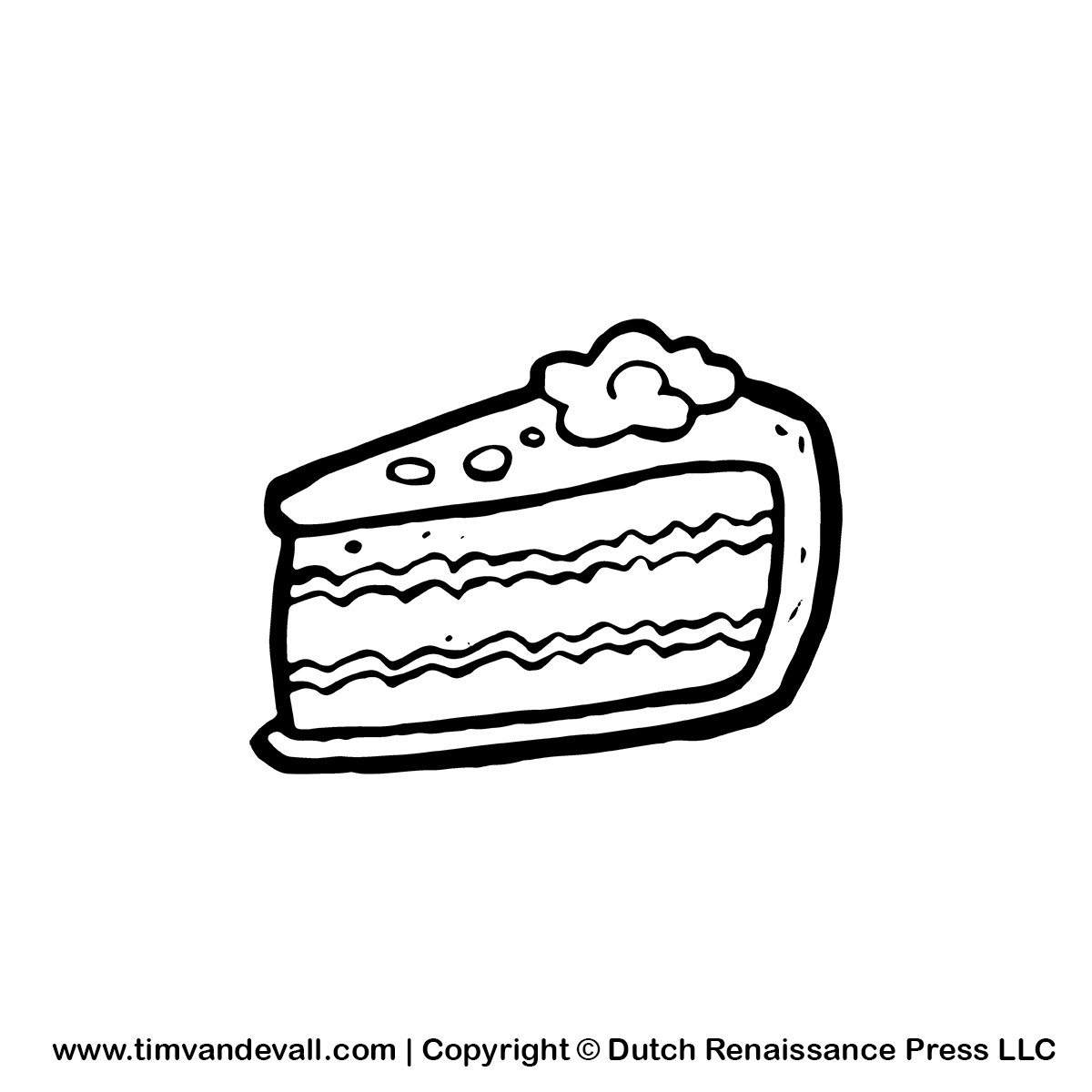 Cake Black Clipart - Clipart Kid banner free library