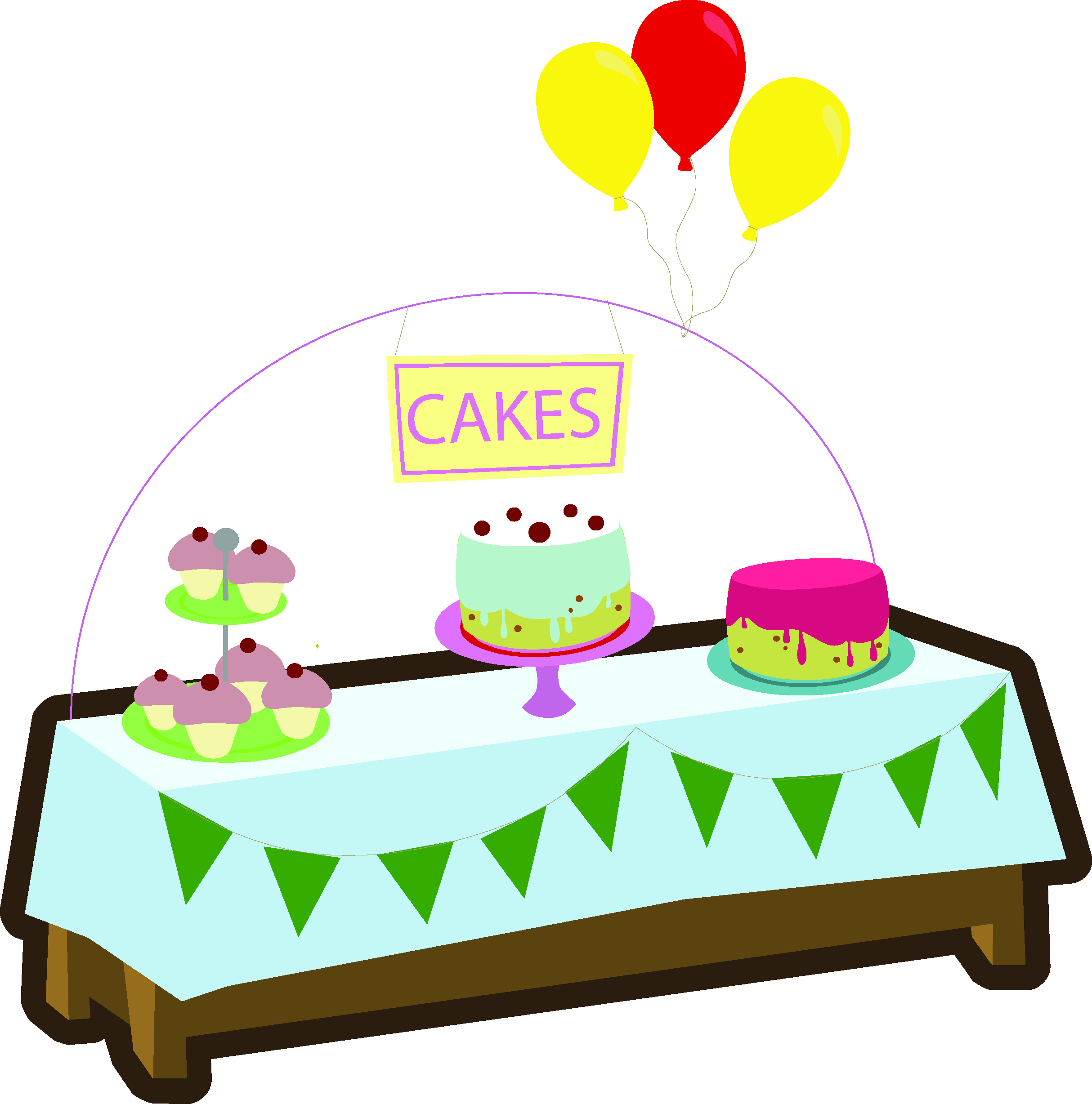 Cake stall clipart image royalty free stock Baking clipart cake stall, Baking cake stall Transparent FREE for ... image royalty free stock