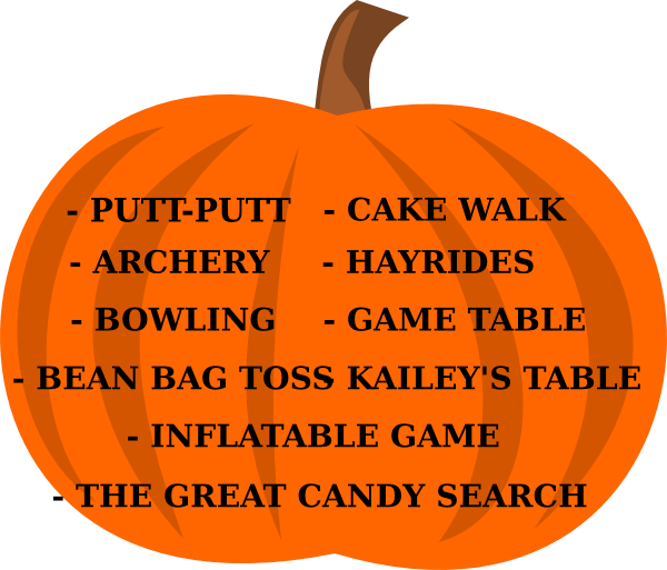 Cake walk pumpkin clipart picture free stock Fall Festival Clip Art at Clker.com - vector clip art online ... picture free stock