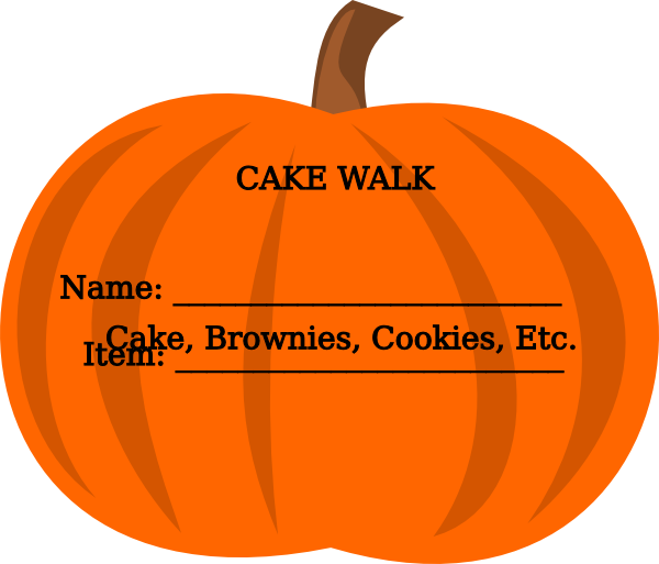 Cake walk pumpkin clipart svg free download Sign Up Pumpkin Clip Art at Clker.com - vector clip art online ... svg free download