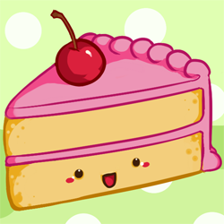 Cake with face clipart picture royalty free Cute food with faces are adorable, no matter how you slice it! You ... picture royalty free