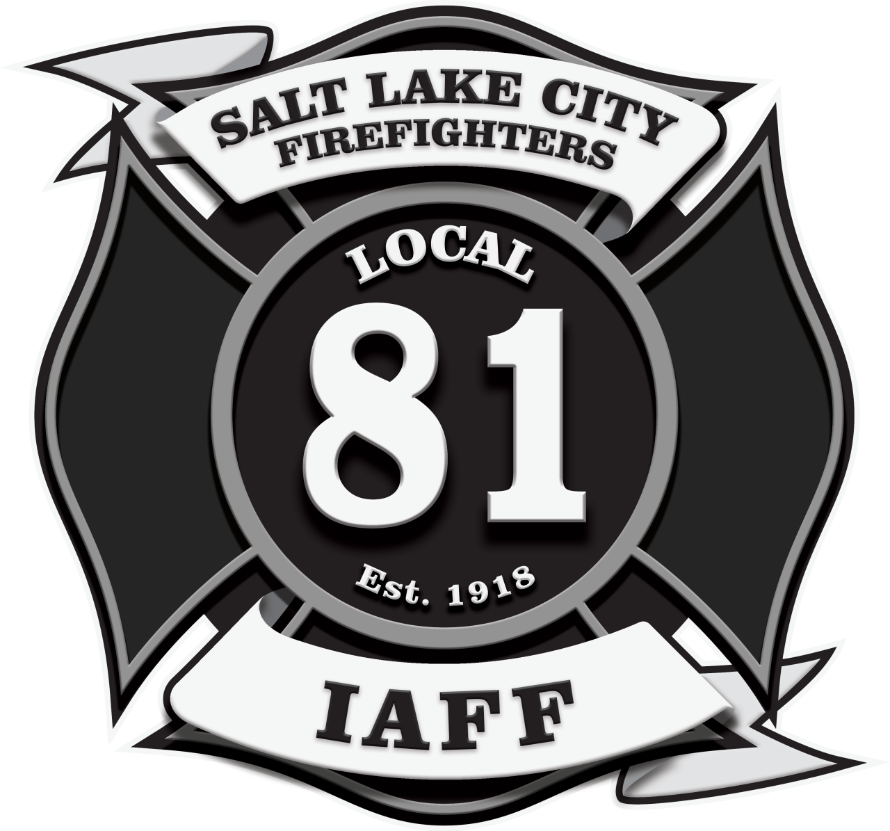 Cal fire logo black and white clipart svg Salt Lake City Fire Fighters svg