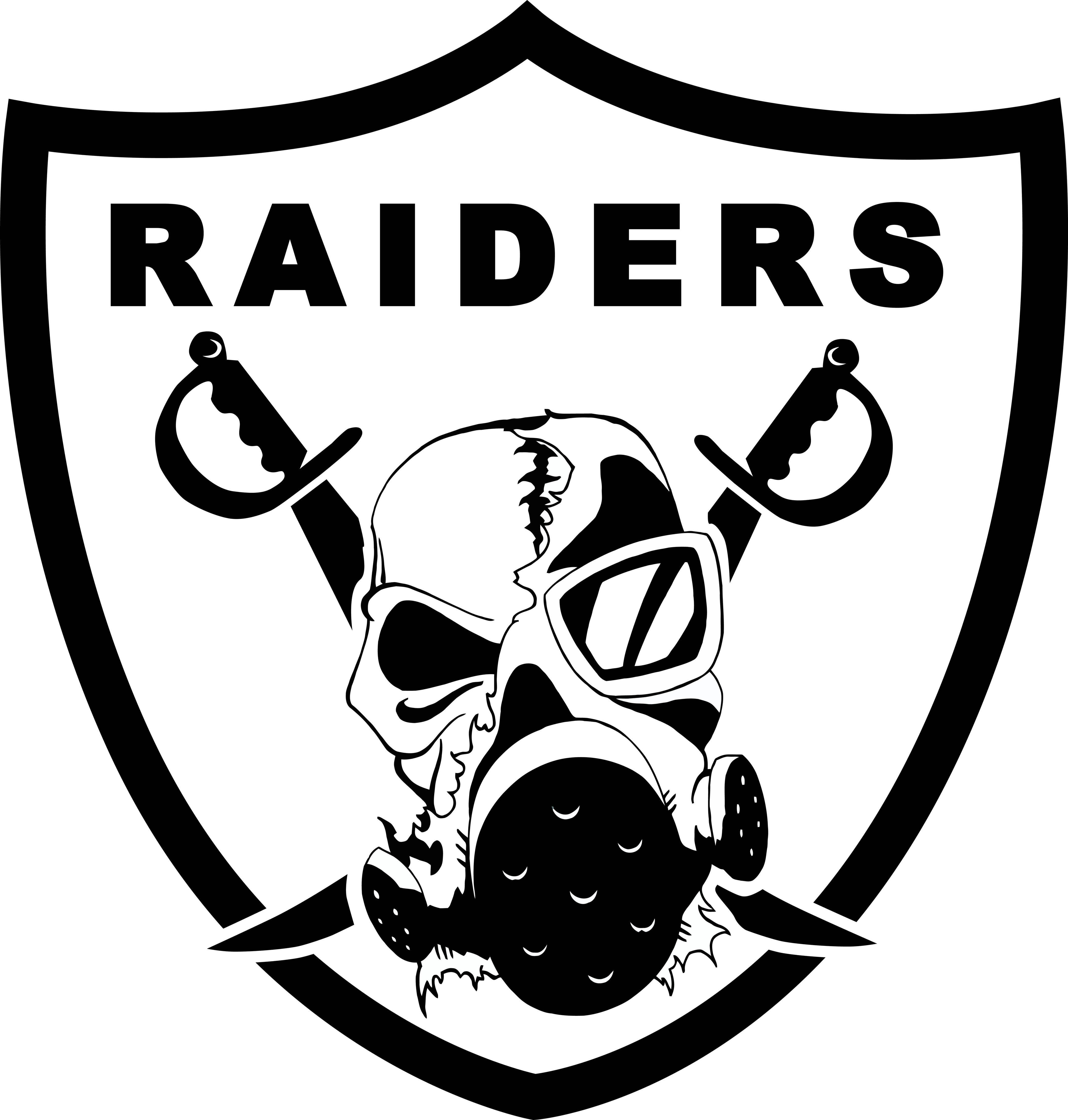 Cal fire logo black and white clipart jpg black and white download Clipart black and white raiders logo - ClipartFest jpg black and white download