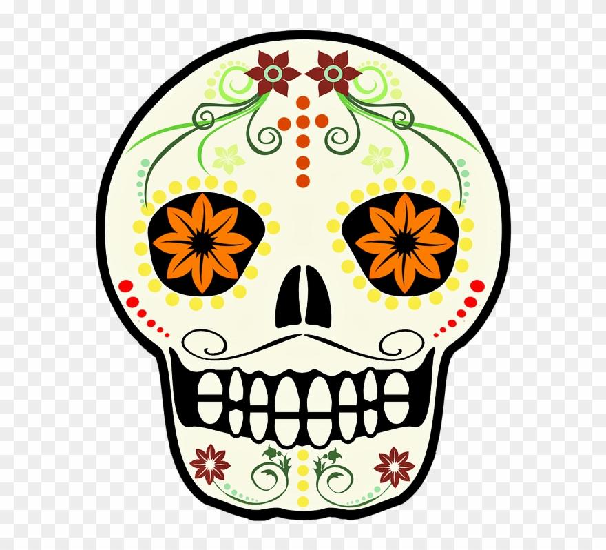 Calavera clipart clipart royalty free Calavera Png - Calavera De Mexico Clipart (#1843829) - PinClipart clipart royalty free