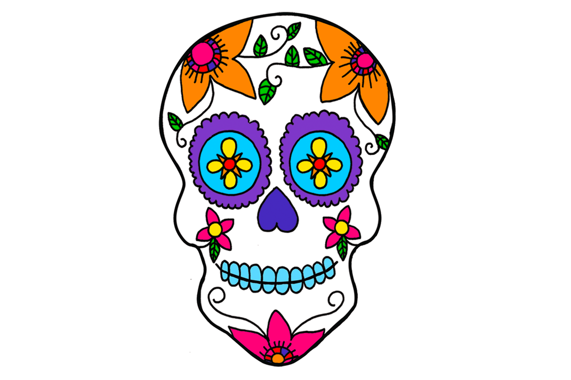 Day of the dead clipart clip art freeuse stock Calavera Clipart at GetDrawings.com | Free for personal use Calavera ... clip art freeuse stock