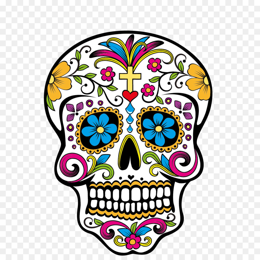 Calavera clipart banner Day Of The Dead Skull png download - 1181*1181 - Free Transparent ... banner