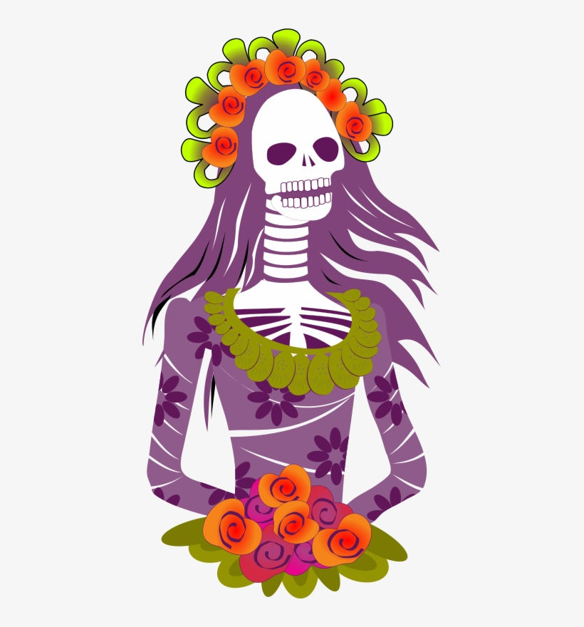 Calavera dia de muertos clipart graphic library download Day Of The Dead Clipart Mexican Celebration - Calaveras Dia De ... graphic library download