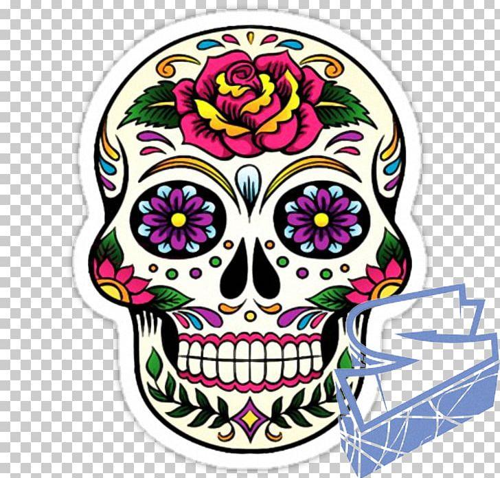Calavera dia de muertos clipart graphic freeuse download Calavera Day Of The Dead Skull Mexican Cuisine Mexico PNG, Clipart ... graphic freeuse download