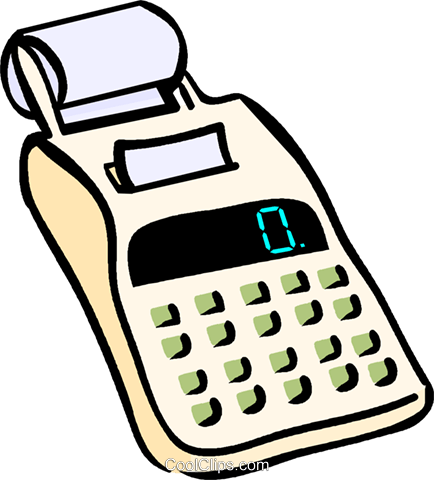 Calculadora clipart graphic library library calculator Royalty Free Vector Clip Art illustration -vc019072 ... graphic library library