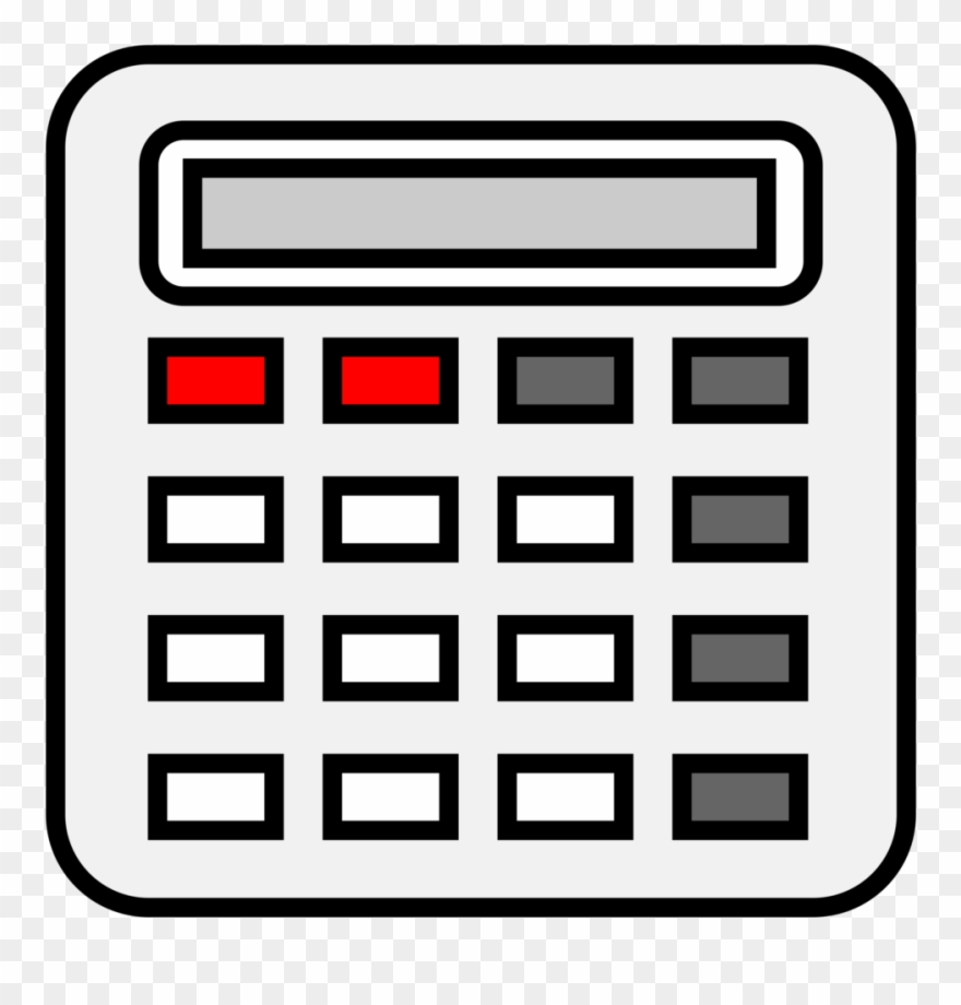 Calculate change clipart vector royalty free library Calculator Images Clip Art - Calculator Clip Art Png Transparent Png ... vector royalty free library
