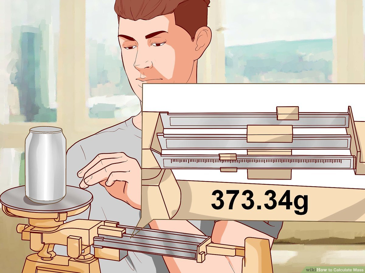 Calculate change clipart png freeuse stock How to Calculate Mass: 10 Steps (with Pictures) - wikiHow png freeuse stock