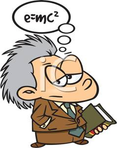 Virtuoso clipart image library A Virtuoso Professor Calculating an Equation In His Head - Royalty ... image library