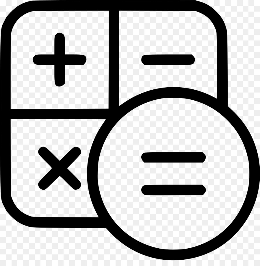 Calculation clipart png library library Number Icon clipart - Calculator, Number, Text, transparent clip art png library library